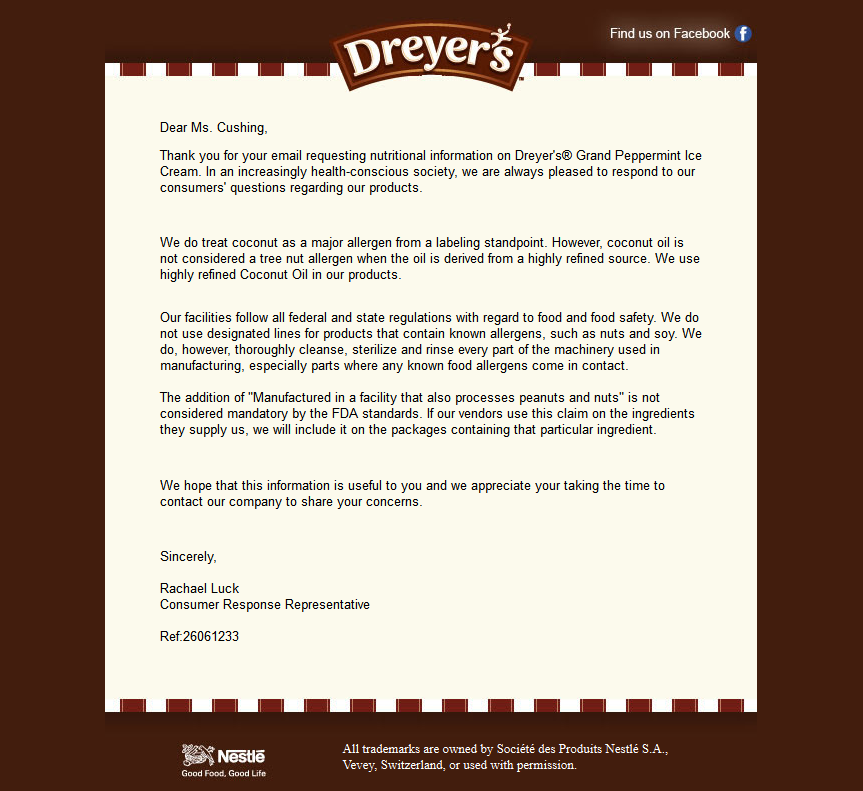 dryers first email 9.9.14