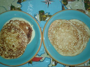 Delicious nickel free lemon cottage cheese pancakes.