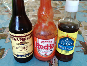 "This recipe uses a combination of these three sauces. They are all nickel free, however the Worcestershire sauce does contain ""natural flavors"" which doesn't disclose exactly what that means."