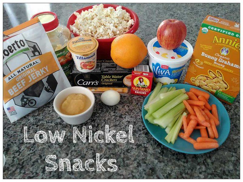 Low Nickel And Nickel Free Foods List